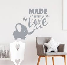 Elephant Wall Decal With Name Bubbles Pottery Barn Pink For Nursery Art Amazon Girl Vamosrayos