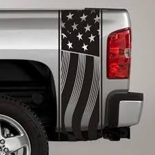 Us Flag Truck Bed Stripe Decals Pair Skunkmonkey