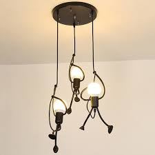 creative iron light chandelier modern