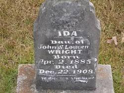 Ida Wright (1895-1909) - Find A Grave Memorial