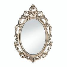 contemporary art small wall mirror