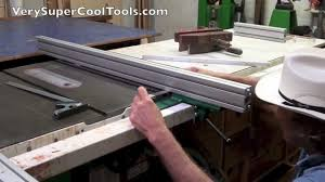 Standard T Square For Cabinet Saws Bandsaws Contractor Saws Extrusion Sold Separately Verysupercool Tools