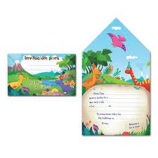 Invitaciones De Cumpleanos De Dinosaurios