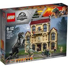 LEGO Jurassic World Indoraptor Rampage at Lockwood Estate - 75930 ...