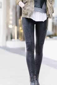 faux leather moto leggings leather