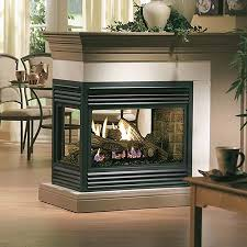 double sided fireplaces can add comfort
