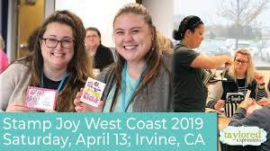 Stamp Joy West Coast 2019 - YouTube