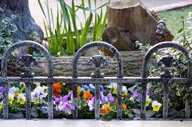 3 X Lengths Silver Plastic Border Lawn Grave Edging Fancy H Duty Fencing 1 8mtr 5034537020670 Ebay