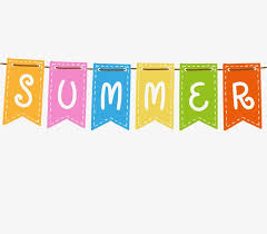 Download Free png Summer Banners, Summer Clipart, Hanging Flags ...