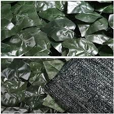 Amazon Com Yescom 59 X196 Artificial Faux Ivy Leaf Fence Screen Decoration Panel Mesh Back Uv Privacy Hedge Outdoor Yard Patio Home Kitchen