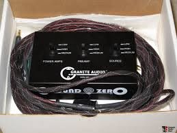 GRANITE AUDIO Model #500 Ground Zero Ground Loop Elimination System Photo  #1444647 - Canuck Audio Mart