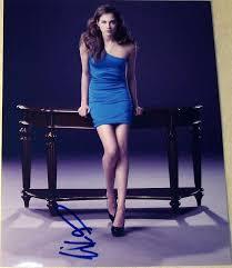 """Willa Holland Signed Autograph Sexy Legs""""arrow"""" New Season Promo 8x10 Photo  Coa - TV Photos at Amazon's Entertainment Collectibles Store"""
