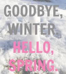 saying goodbye winter com