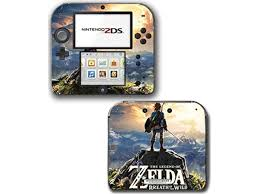 Legend Of Zelda Breath Of The Wild Link Ganon Hyrule Video Game Vinyl Decal Skin Sticker Cover For Nintendo 2ds System Console Newegg Com