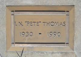 """Ivy Newman """"Pete"""" Thomas (1930-1990) - Find A Grave Memorial"""