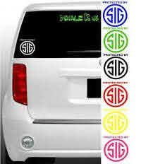 Protected By Sig Vinyl Decal Guns Sticker Iphone Android Car Window Tablet Multi Ebay
