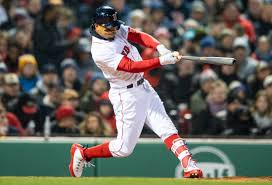 swing away, Mookie Betts powering Sox ...