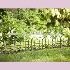 Decorative Metal Lawn Edging Fence Ideas Vintage Wrought Iron Flower Border Fencing Steel Garden Small Fencing Buy Metal Garden Border Fence Portable Garden Fence Small Fences For Gardens Product On Alibaba Com