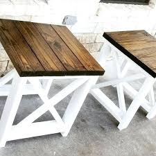 off white and brown coffee table