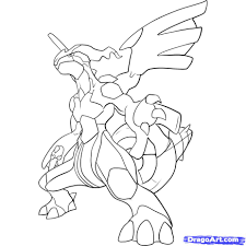 Reshiram Coloring Page At Getdrawings Free Download