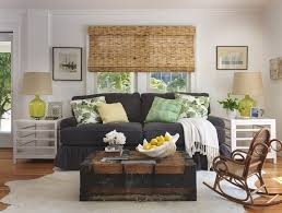 coffee table beach style living room