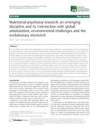 pdf nutritional psychiatry research