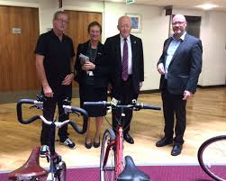 """Bike Stop in Darlington ar Twitter: """"Ada Burns and Alistair Mcconnachie  paying a visit to our stand in The Dolphin Centre #CycleToWorkDay  @DoLocalMotion @LovetoRide_… https://t.co/R3DRuc5dey"""""""