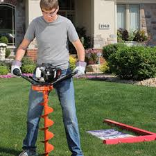 General Equipment Company 1 Man Auger Rental The Home Depot