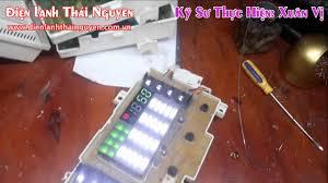 Tự Học Sửa Máy Giặt LG Lỗi Không Lên Nguồn Không Hiển Thị Bảng ...