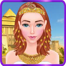 egyptian princess makeup makeover