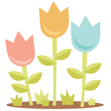 Tulips SVG scrapbook cut file cute clipart files for silhouette ...