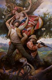 Juxtapoz Magazine - Adam Miller: A Painter of Contemporary Epics
