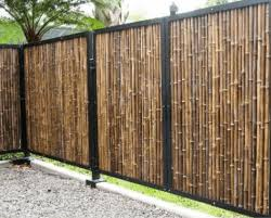Garden Fence Panels Landscaping The Home Depot Garden Fence Panels Garden Fencing Bamboo Garden