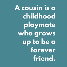 celebrate cousinship cousin quotes poems and fun ideas for