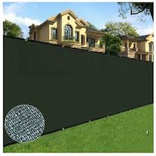 Boen 8 Ft X 50 Ft L Green Polyethelene Chain Link Fence Screen In The Chain Link Fence Screens Department At Lowes Com