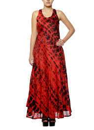 diya mehta red bias dress