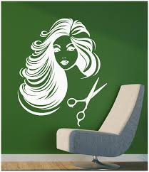 Ig2097 Wall Vinyl Sticker Decal Hair Salon Barber Barbershop Stylist Beauty