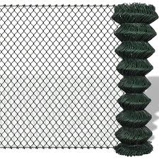 China Pvc Coated Chain Link Fence Packing In Roll China Chain Link Fence Chain Link Netting