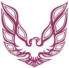 Amazon Com Factory Crafts Firebird Logo Hood Graphics Kit 3m Vinyl Decal Wrap Compatible With Pontiac Transam Firebird Pink Automotive