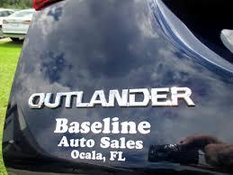Used 2020 Mitsubishi Outlander Es 2wd For Sale In Ocala Fl 34480 Baseline Auto Sales