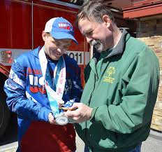 All about Aaron: Mountain Top residents turn out for Special Olympics gold  medalist | Times Leader