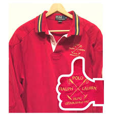 polo ralph lauren rugby polo shirt size