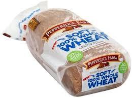pepperidge farm soft 100 whole wheat