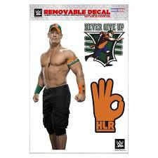 John Cena Removeable Decal Wwe Us