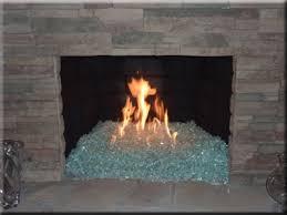 fire pit glass fireplace