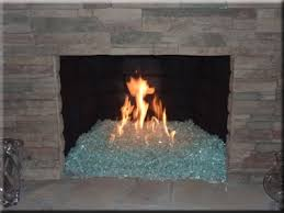fire pit glass fireplace