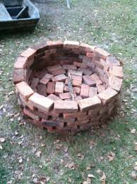 fire pit fast and very easy made with