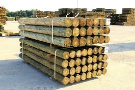Round Fence Posts American Timber And Steel