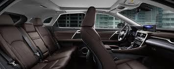 explore the 2020 lexus rx 350 interior