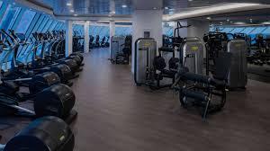 the fitness center on celebrity edge